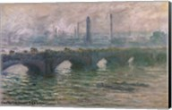 Waterloo Bridge, 1901 Fine-Art Print