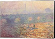 Waterloo Bridge, 1900 Fine-Art Print