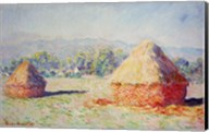 Haystacks in the Sun, Morning Effect, 1891 Fine-Art Print