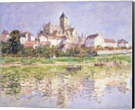 The Church at Vetheuil, 1880 Fine-Art Print
