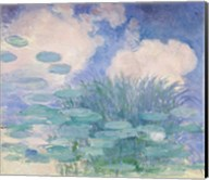 Waterlilies, 1914-17 reflection Fine-Art Print