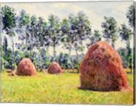 Haystacks at Giverny, 1884 Fine-Art Print