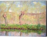 Spring, River Bank at Epte, 1885 Fine-Art Print