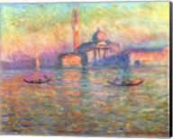 San Giorgio Maggiore, Venice, 1908 Fine-Art Print