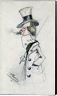 Dandy with a Cigar, 1857 Fine-Art Print