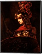 Pallas Athena or, Armoured Figure Fine-Art Print