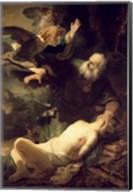 The Sacrifice of Abraham, 1635 Fine-Art Print