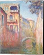 Venice - Rio de Santa Salute, 1908 Fine-Art Print