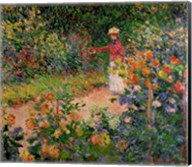 Garden at Giverny, 1895 Fine-Art Print
