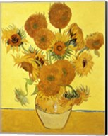 Sunflowers, 1888 yellow Fine-Art Print
