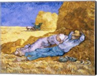 Noon, or The Siesta, after Millet, 1890 Fine-Art Print