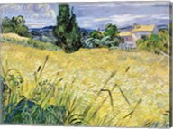 Landscape with Green Corn, 1889 Fine-Art Print