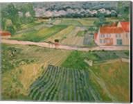 Landscape at Auvers after the Rain, 1890 Fine-Art Print