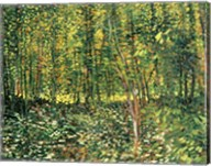 Trees and Undergrowth, 1887 Fine-Art Print