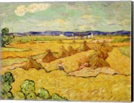 The Haystacks Fine-Art Print