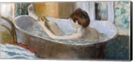 Woman in her Bath, Sponging her Leg, c.1883 Fine-Art Print