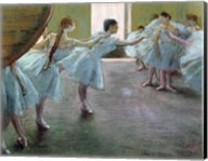 Dancers at Rehearsal Fine-Art Print