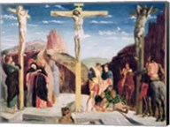 Calvary, after a painting by Andrea Mantegna Fine-Art Print