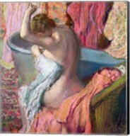 Seated Bather, 1899 Fine-Art Print