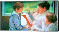 Mrs Cassatt Reading to her Grandchildren, 1888 Fine-Art Print