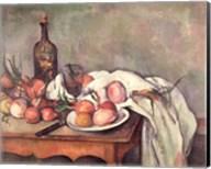 Still Life with Onions, c.1895 Fine-Art Print