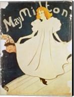 May Milton, France, 1895 Fine-Art Print