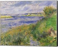 The Banks of the Seine, Champrosay, 1876 Fine-Art Print