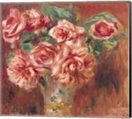 Roses in a Vase, c.1890 Fine-Art Print