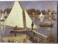 The Seine at Argenteuil, 1874 Fine-Art Print