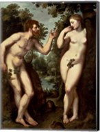 Adam and Eve, c.1599 Fine-Art Print