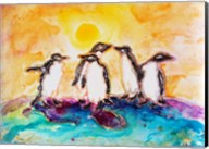 Penguins Under the Sun Fine-Art Print
