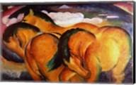 Little Yellow Horses, 1912 Fine-Art Print