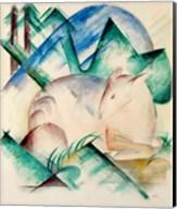 Sleeping Deer Fine-Art Print