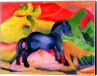 Little Blue Horse, 1912 Fine-Art Print