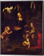 Madonna of the Rocks, c.1478 Fine-Art Print