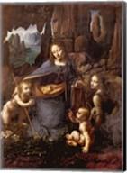 The Virgin of the Rocks Fine-Art Print
