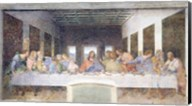 The Last Supper, 1495-97 (post restoration) Fine-Art Print