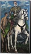 Saint Martin and the Begger 1597-99 Fine-Art Print