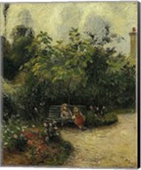 Corner of a Garden at the Hermitage, 1877 Fine-Art Print