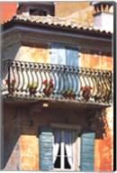 Iron Balcony, Italy Fine-Art Print
