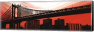 Manhattan Bridge Aura Fine-Art Print