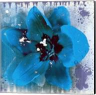 Tulip Fresco (blue) Fine-Art Print
