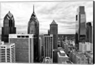 Philly Skyline (b/w) Fine-Art Print