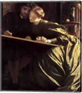 Painter's Honeymoon, about 1864 Fine-Art Print