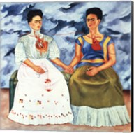 The Two Fridas, 1939 Fine-Art Print