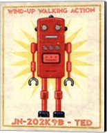 Ted Box Art Robot Fine-Art Print