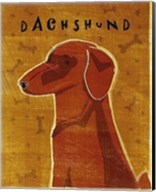 Dachshund (red) Fine-Art Print