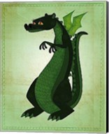 Green Dragon Fine-Art Print