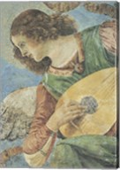 Angel with Lute Fine-Art Print