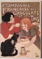 Compagnie Francaise des Chocolats Fine-Art Print
